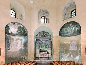 La cappella di Sant'Aquilino.