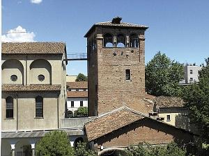 Torre dei carceres del circo, attualmente nella sede del Civico Museo Archeologico.